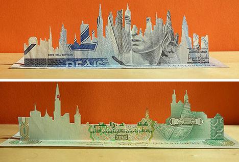 [wooow] Ketika Uang Menjadi Karya Seni Indah [pic+] [ www.BlogApaAja.com ]