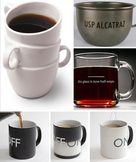 Creative tea coffee 11 cool mugs for a hot cup o joe for Where to buy cool coffee mugs