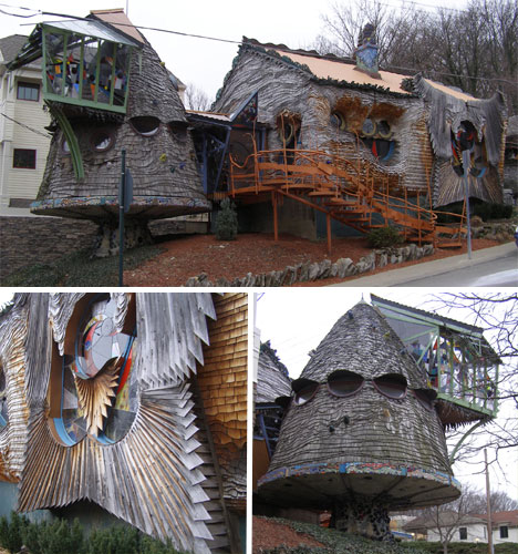 Charming Mushroom House U2013 Cincinnati, Ohio