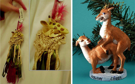 54 Creepy, Bizarre and Geeky Xmas Tree Ornaments | Urbanist