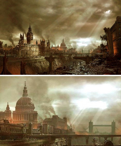 At Worlds End PostApocalyptic Artistic Visions Urbanist - What a post apocalyptic world looks like according to hollywood