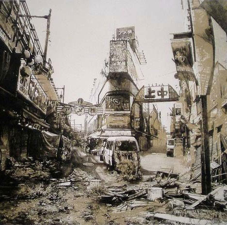 At world s end 25 post apocalyptic artistic visions for Germany rebuilding after ww2