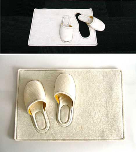 Bedside Slippers rug