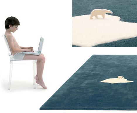 Global warming rug