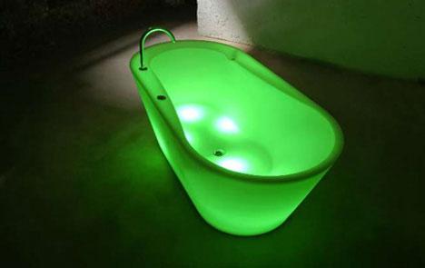 LLT Illuminated LED bathtub