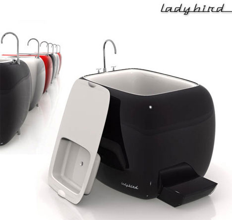 Ladybird tub