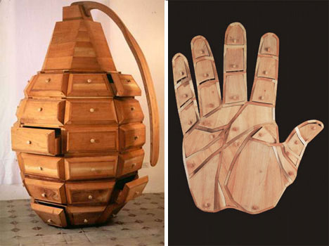 Grenade and Hand dressers