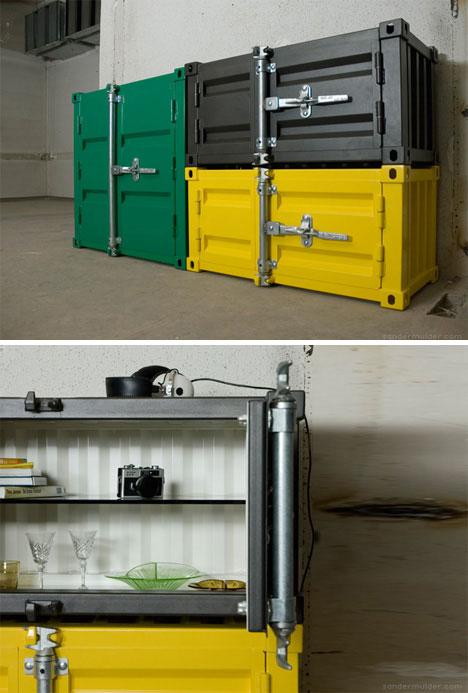 Pandora shipping container dresser