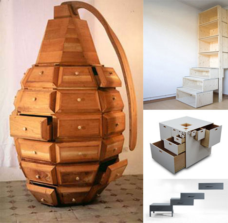 Funky furnitures 142 creative modern furniture designs for Unusual furniture ideas