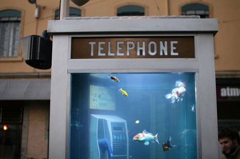 The Telequarium  Aquaman's Changing Room