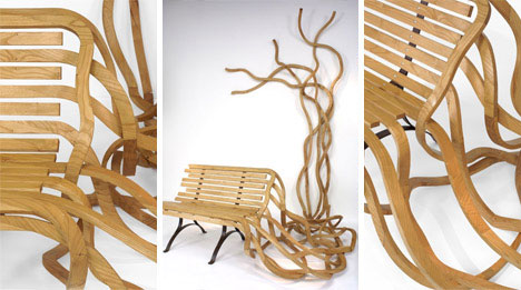artistic-wooden-bench-design