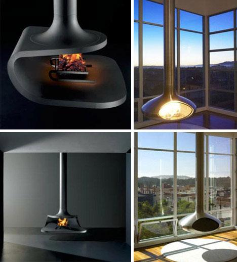 22 More Fun Wood Metal Glass Fireplace Designs Urbanist
