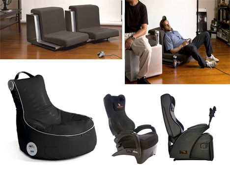 DownLow, SlouchPod and Ultimate Gaming Chair