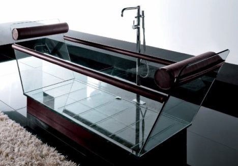 7 beautiful modern bathtubs and bathroom collections | urbanist