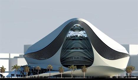 Museum of Middle East Modern Art in Dubai