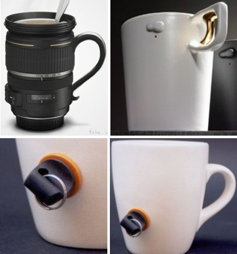 11 More Creative Clever Coffee Tea Mug Designs: creative mug designs