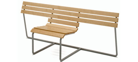 one-seater-bench-statement