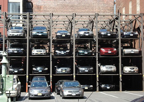 Eli5 How Do Multi Level Stackable Parking Lots In Nyc Or