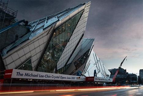 royal ontario museum extension toronto - Modern Architecture Museum