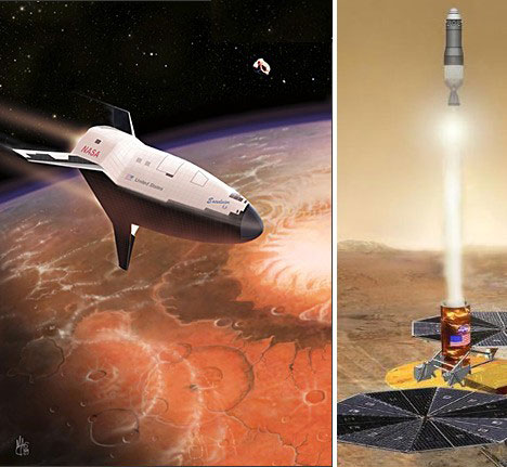 Mars SpaceX Ship - Pics about space