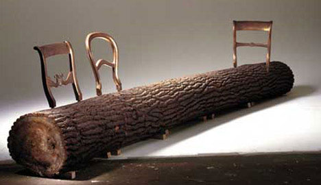 tree-trunk-creative-bench