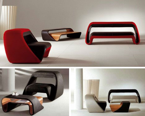Domestic Visions 15 Futuristic Modern Furniture Designs
