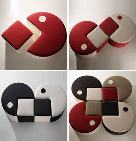 pacman-furniture-set