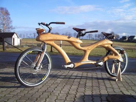 wooden-bicycle