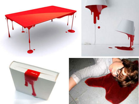 Bloody Brilliant: 10 Blood-Themed Domestic Design Ideas | Urbanist