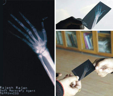 debt-recovery-x-ray-business-card