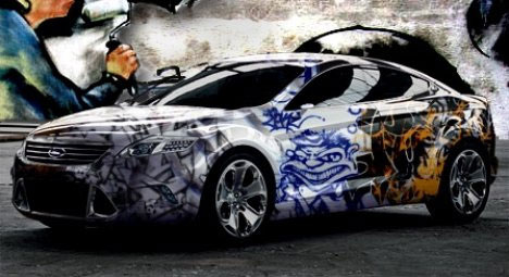 Show on the road 10 awesome mobile works of graffiti for Mobile auto painting
