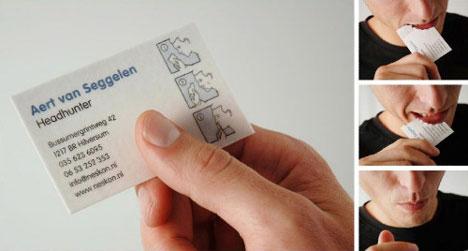 headhunter-business-card