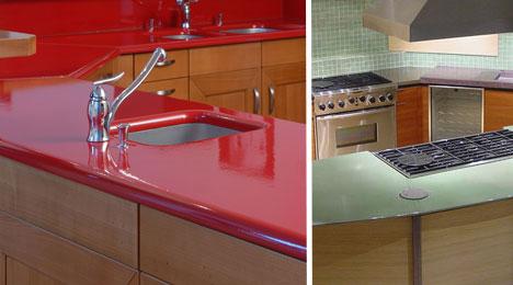 10 Creative Counter Surface Material Designs Ideas