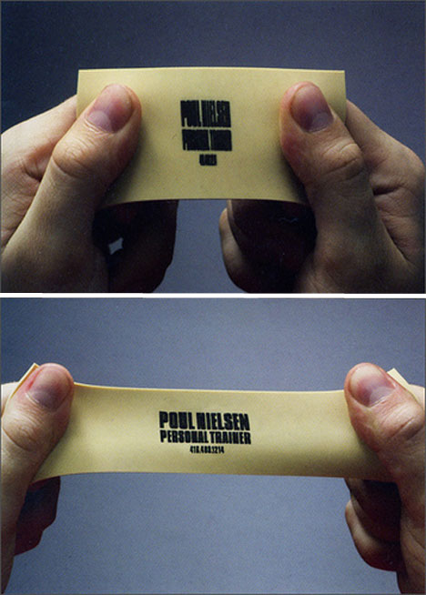 Pt business cards slogans muscletalkcouk for Rubber business cards
