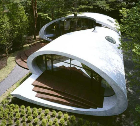Dream house designs 10 uncanny ultramodern homes urbanist for Incredible home designs