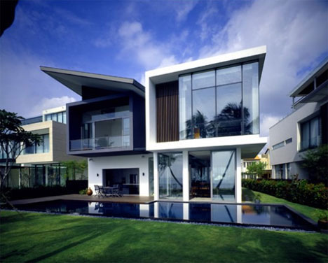 Dream house designs 10 uncanny ultramodern homes urbanist for Modern residential house plans