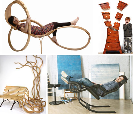 Art of Design 16 Amazing Artistic Furniture Designs Urbanist
