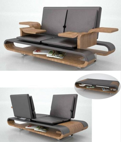 Art of design 16 amazing artistic furniture designs - Zara home muebles ...