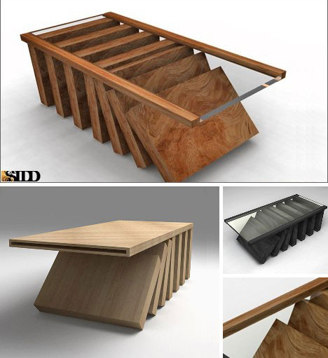 15 creative modern coffee tables coffee table designs for Creative design table