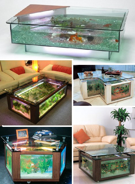 15 creative modern coffee tables coffee table designs for Shallow coffee table