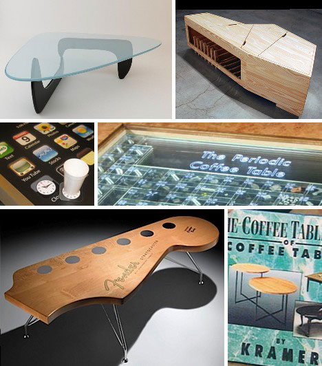 15 creative modern coffee tables & coffee table designs | urbanist Creative Coffee Tables
