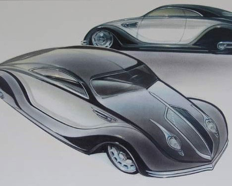 Shining Examples Cool Concept Cars Of The Golden Age Urbanist - Classic car design