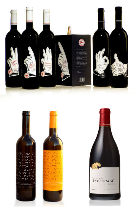 Drink Them In 61 Creative Artistic Wine Label Designs Urbanist