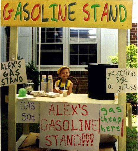 gasoline-stand