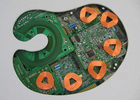 Поделки из компьютерного железа своими руками
