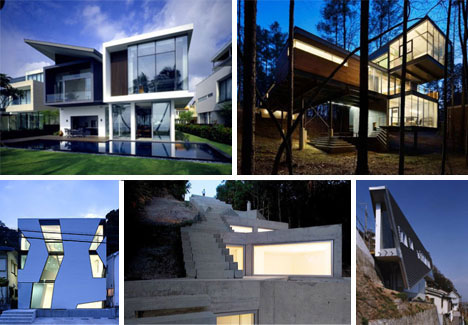 Dream House Designs: 10 Uncanny Ultramodern Homes