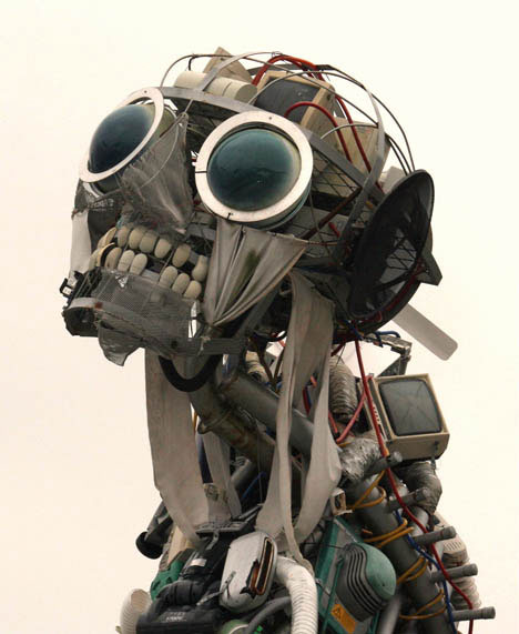 20 Amazing Examples of Art Made from Obsolete Technology | Urbanist