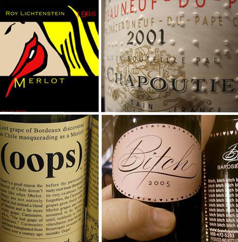 Drink Them In 61 Creative Artistic Wine Label Designs Urbanist