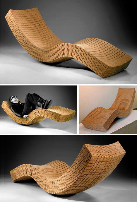 put a cork in it 25 creative works of cork art design. Black Bedroom Furniture Sets. Home Design Ideas