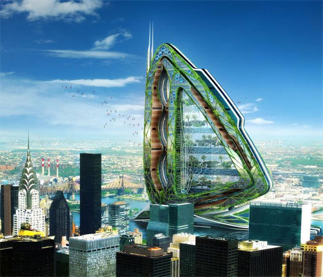Unbuilt buildings 12 awesome future architectural designs for Modern architecture concept